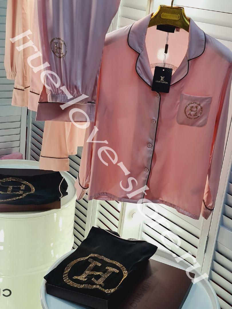 P_020- Цена за 3 штуки, Пижама Розовая (M,L,XL)