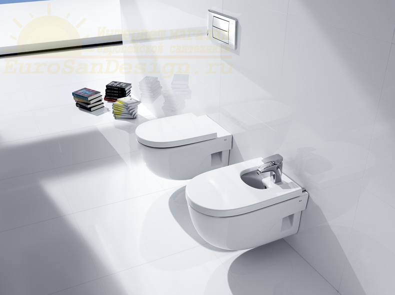 Сиденье для унитаза с крышкой Roca MERIDIAN-N Compacto 8012AB004 для унитаза standart ФОТО