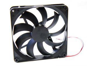 Осевой вентилятор корпусной 140х140х25мм 12В
