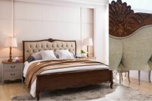 Кровать Florence MK-5083-BR двуспальная