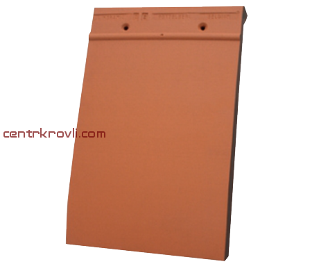 PLAIN TILE SMOOTH NATURAL RED