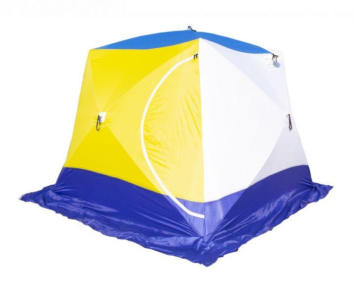 Палатка КУБ-4 трехслойная дышащая СТЭК 2,5*2,5*2