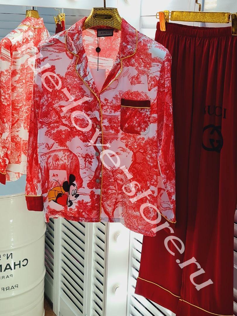 P_024- Цена за 3 штуки, Пижама двоечка GUCCI (M,L,XL)