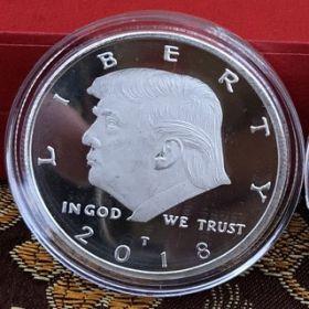 Donald Trump Commemorative Coin (3.9cm) (магнит)