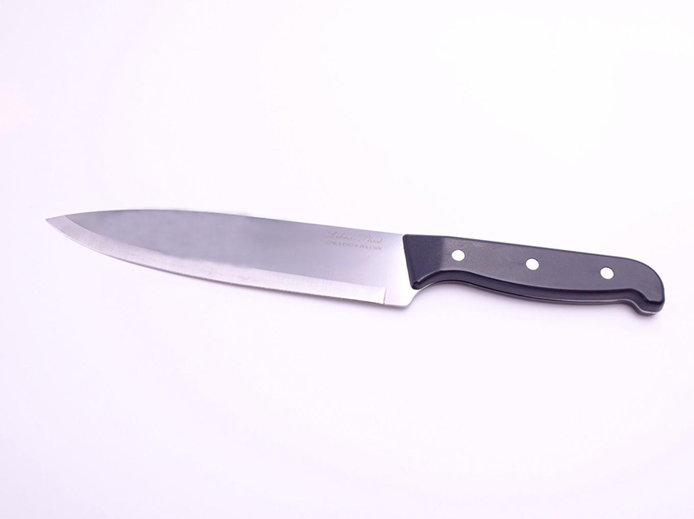 Шеф-нож большой с пластиковой ручкой 30см КН-108