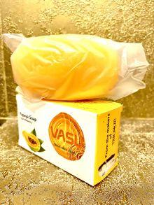 Vasu PAPAYA SOAP Uva (Мыло с Папайей омолаживающее, Васу), 125 г.