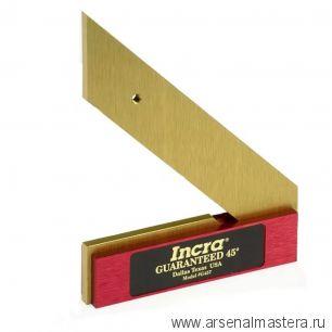 Угольник столярный высокоточный INCRA 45 град 180 мм G457