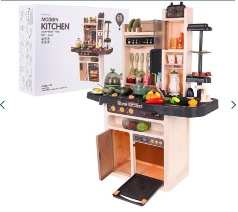 Кухня и 65 аксессуаров ZDZ.889-211