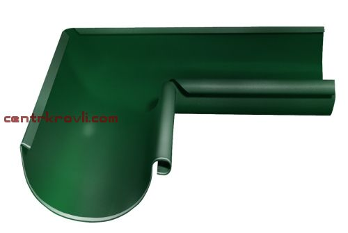 Угол желоба внутренний 90 гр 125 мм