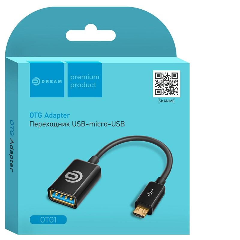 Адаптер OTG MicroUSB-USB