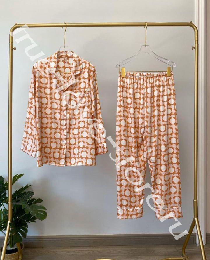 720184 -3- Цена за 2 шт, Пижама двойка VS Орнамент (L,XL)