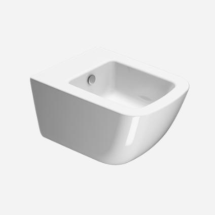 Подвесное керамическое биде GSI Sand 90641 50х37 ФОТО