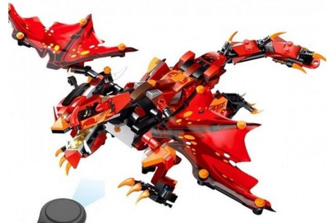 Конструктор MOULD KING 13019 Огненный Дракон 485 деталей