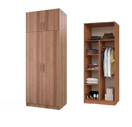 Шкаф 2-х створчатый с перегородкой (БТС)