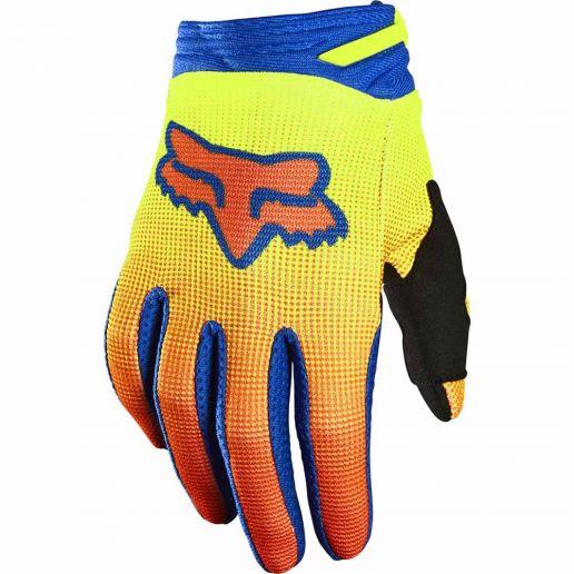 Fox 2021 180 Oktiv Fluorescent Yellow перчатки