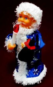 Дед Мороз музыкальный (25 см)