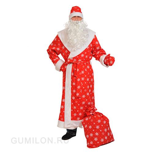 Профессиональный костюм Деда Мороза