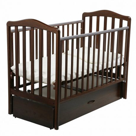 Детская кроватка Винни маятник 120х60