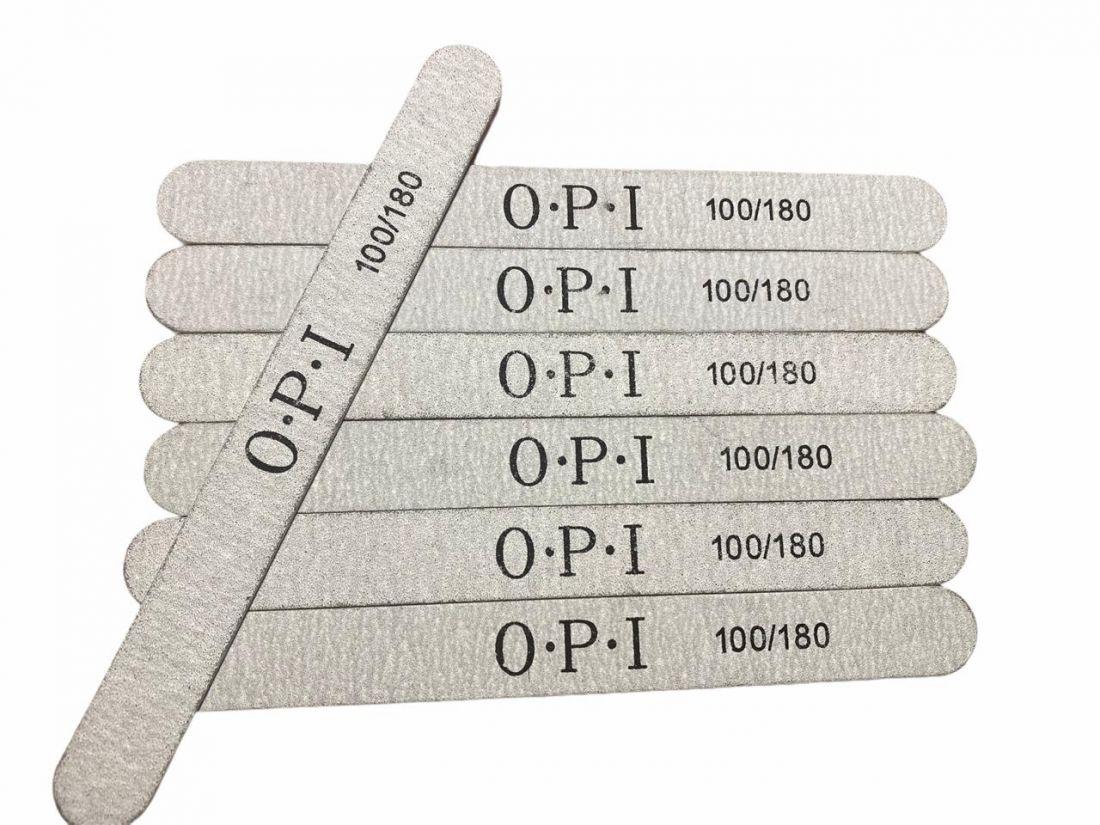 Пилка OPI для натуральных ногтей 100/180 гритт овал