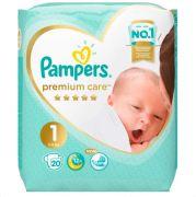 Подгузник PAMPERS Premium Care Newborn 1 (2-5 кг), 20 шт./PAMPERS