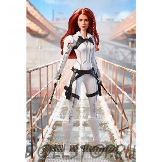 "Коллекционная кукла Барби Марвел ""Черная вдова"" - Marvel Studios' Black Widow Barbie Doll"