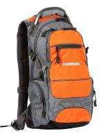Рюкзак Wenger Narrow hiking pack 13024715-2 — серый / оранжевый / серебристый цвет