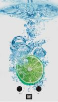 Проточный газовый водонагреватель Zanussi GWH 10 Fonte Glass Lime (НС-1077261)