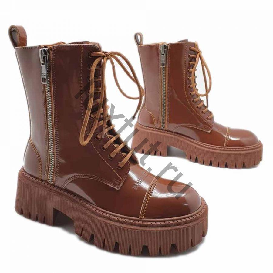 Ботинки Balenciaga коричневые