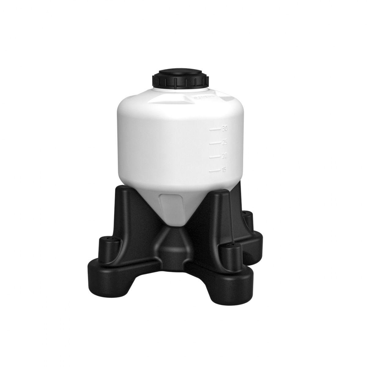 Емкость ЦКТ 35 литров для пивоварения с подставкой (стандарт)