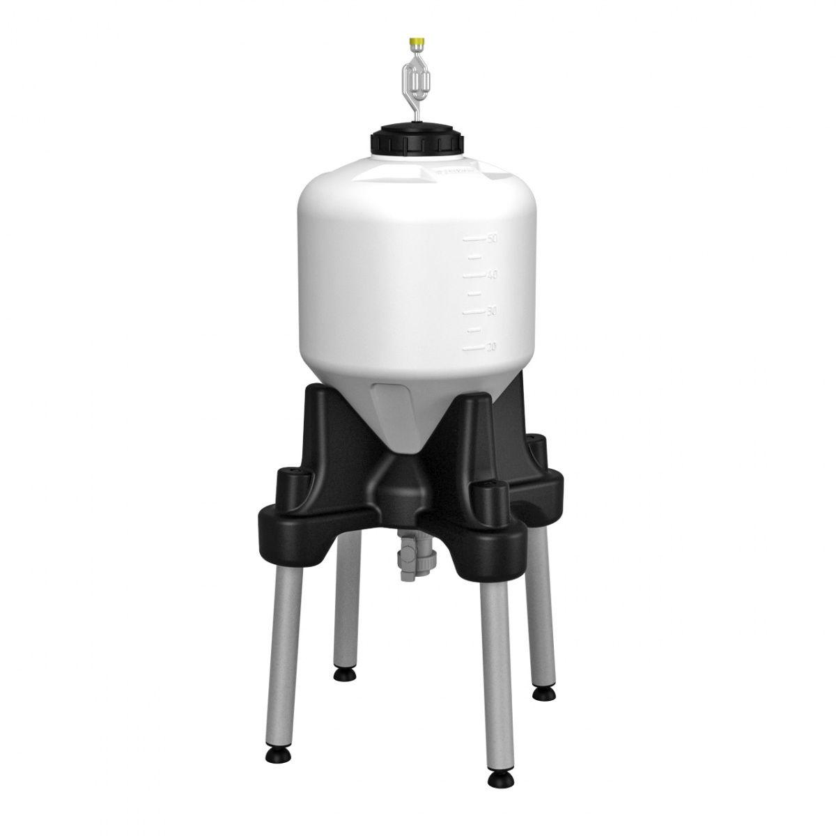 Емкость ЦКТ 60 литров для пивоварения с подставкой (премиум)