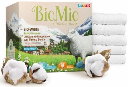 Bio-Mio стиральный порошок Bio-White 1,5 кг
