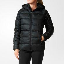 Женская куртка adidas Cosy Down Jacket чёрная