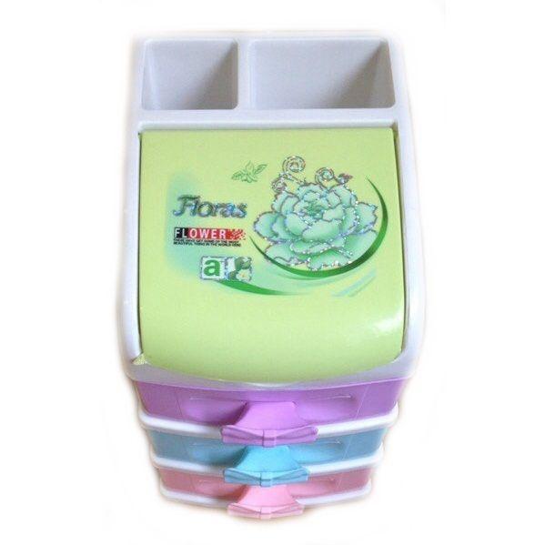 Пластиковая шкатулка-комод Floras