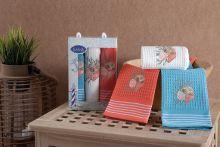Комплект вафельных полотенец TEA TIME (40*60)*2 Арт.3033-1