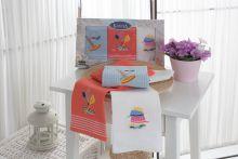 Комплект вафельных полотенец KLORA (40*60)*3 Арт.3028