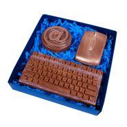 """Шоколадный набор """"Компьютерщик"""""""
