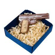 """Шоколад """"Пистолет"""", в коробочке"""