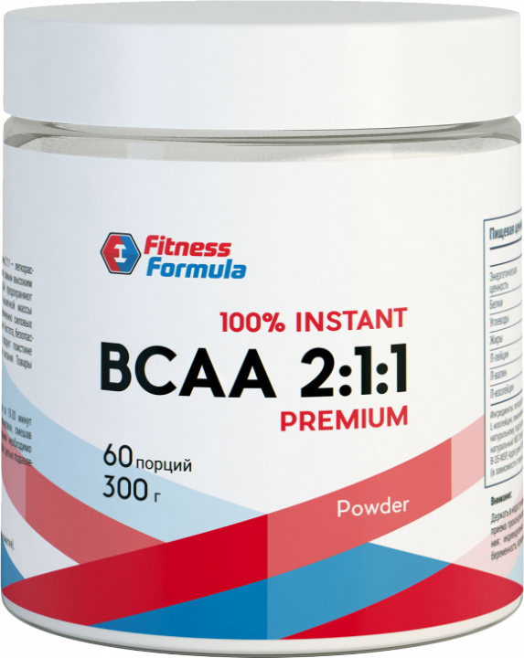 Fitness Formula BCAA powder 300гр