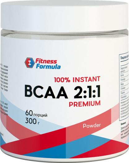 Fitness Formula BCAA powder 300гр