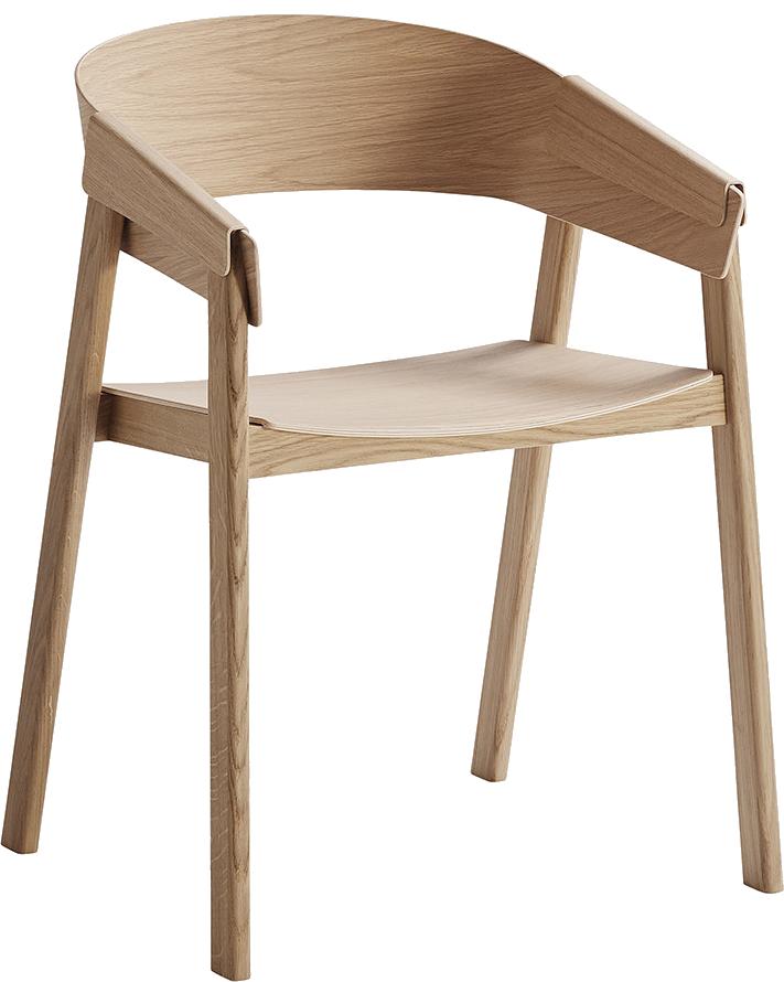 Деревянный стул Cover Chair