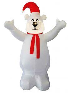 Надувная фигура  Белый медведь (1,8 м)