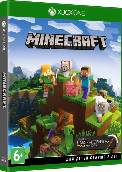 Игра Minecraft Starter Collection (Набор Новичок) (Xbox One)