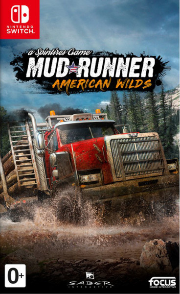 Игра Spintires: MudRunner American Wilds (Nintendo Switch)