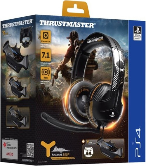 Игровая гарнитура Thrustmaster Y350P 7.1. Powered Ghost Recon Wildlands Edition (PS4)