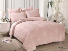 Комплект постельного белья Лен Soft cotton жаккард    2-спальный Арт.21/015-SC