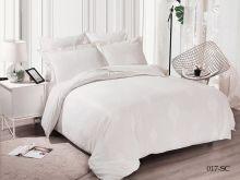 Комплект постельного белья Лен Soft cotton жаккард   евро  Арт.31/017-SC
