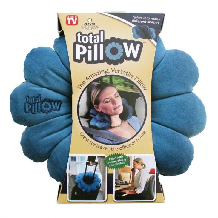 Подушка трансформер для путешествий Total Pillow (Тотал Пиллоу)
