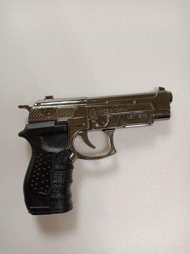 Зажигалка  Пистолет Беретта с лазером