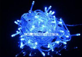 Светодиодная гирлянда влагостойкая 20 метров синяя