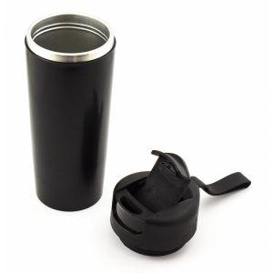 Термостакан непроливайка черный